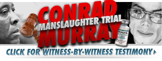 Conrad Murray Man Slaughter Trial - Launch Image
