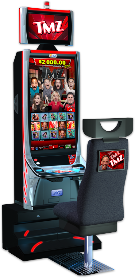 tmz slot machine location