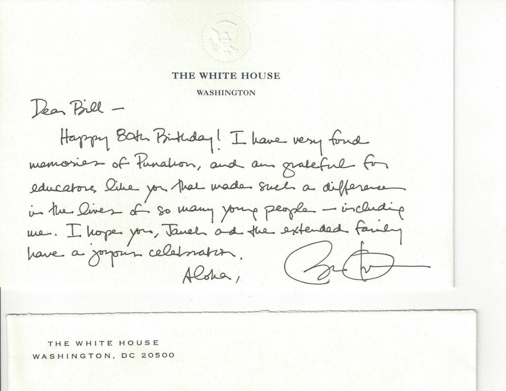 teacher sells birthday note from obama for airg buzz teacher sells birthday note from obama for 12 500