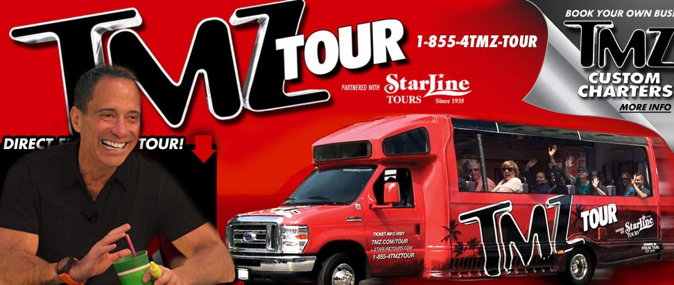 The tmz hollywood tour real hollywood bus tours for Tmz tours in los angeles